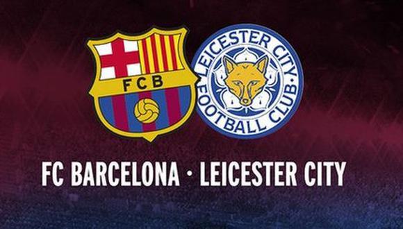 Leicester vs. Barcelona: entérate cuándo y dónde jugarán