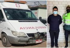 Cusco: Intervienen a sujeto por conducir ambulancia en estado de ebriedad