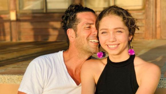 Luna del Mar es la única hija del actor, nacida de su relación con la modelo Erika Rodríguez (Foto: Luna del Mar Pernía / Instagram)