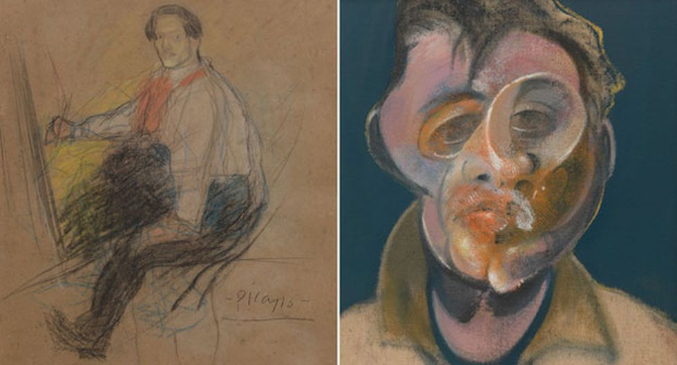 Autorretrato nunca antes visto de Pablo Picasso llega a Londres