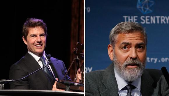 """George Clooney señaló entender la medida que tomó Tom Cruise con la producción de """"Misión Imposible 7"""". (Foto: Tolga Akmen / AFP / Instagram @tomcruise)"""