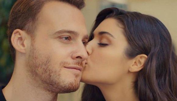 """La historia de amor de Serkan Bolat y Eda Yildiz, ¿continuará en una segunda temporada de """"Love Is in the Air""""? (Foto: MF Yapim)"""