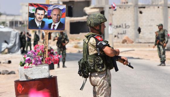 """Siria prepara la batalla final para """"liberar todo el territorio"""" aunque haya una """"agresión"""" occidental. (AFP)."""