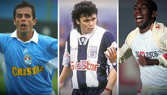 Esidio fue campeón con la U y Alianza, Julinho brilló en Cristal y Marquinho destacó en Boys y fue campeón con Alianza en el 97. (Foto: GEC)