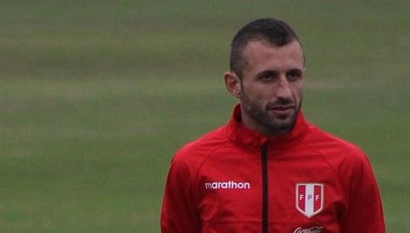 Calcaterra, de 31 años, juega por la selección peruana desde 2018. (Foto: FPF)