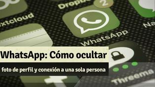 Whatsapp: Te enseñamos cómo oculta tu foto de perfil y conexión a una sola persona
