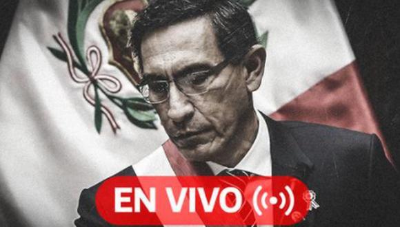 Martín Vizcarra: el Congreso debatirá y votará este lunes 9 de noviembre la segunda moción de vacancia en contra del presidente | Foto: Diseño El Comercio