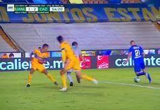 Tigres vs. Cruz Azul: Jonathan Rodríguez y el 2-1 a favor de la 'Máquina Cementera' | VIDEO