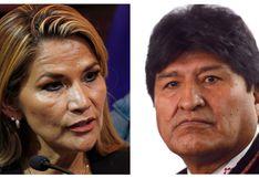 """Jeanine Áñez califica a Evo Morales como una persona """"violenta"""" y """"enloquecida"""""""