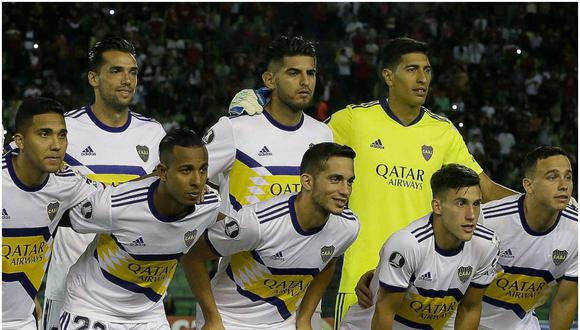 El peruano Carlos Zambrano jugó hasta los 66 minutos del partido por Copa Libertadores. (Foto: Boca Juniors)