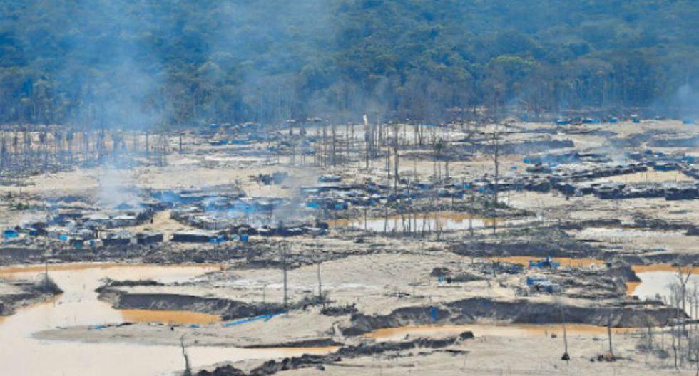 La minería ilegal de oro es responsable de la deforestación de 41 mil hectáreas en los últimos años en la región Madre de Dios, que es la más impactada en toda la Amazonía. (Foto: Dante Piaggio)
