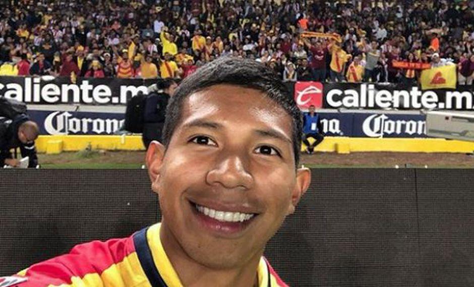 Edison Flores fue comprado por Monarcas Morelia en agosto pasado. (Foto: Monarcas Morelia)