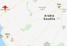 Choque entre un ómnibus y una excavadora deja 35 muertos en Arabia Saudita