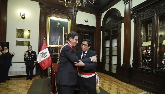 Vicente Zeballos fue primer ministro desde octubre del 2019 hasta este martes 14 de julio. (Foto: Presidencia Perú)