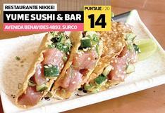 La crítica gastronómica de Paola Miglio a Yume Sushi & Bar