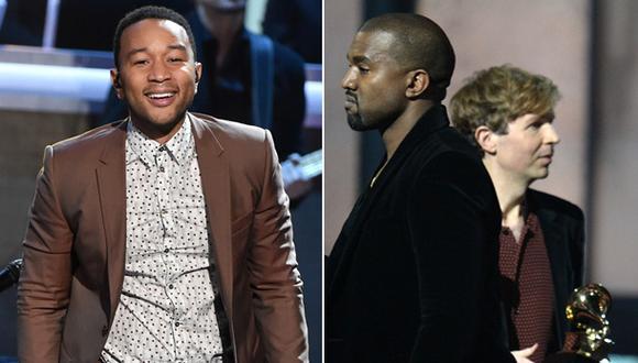 Grammy: John Legend salió en defensa de Kanye West hasta que...