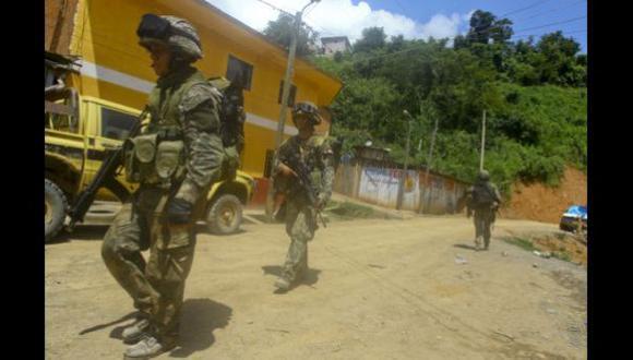 Ejecutivo prolonga apoyo de las Fuerzas Armadas a la PNP