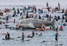 Protestas contra el cambio climático durante la cumbre del G7 en Reino Unido | FOTOS