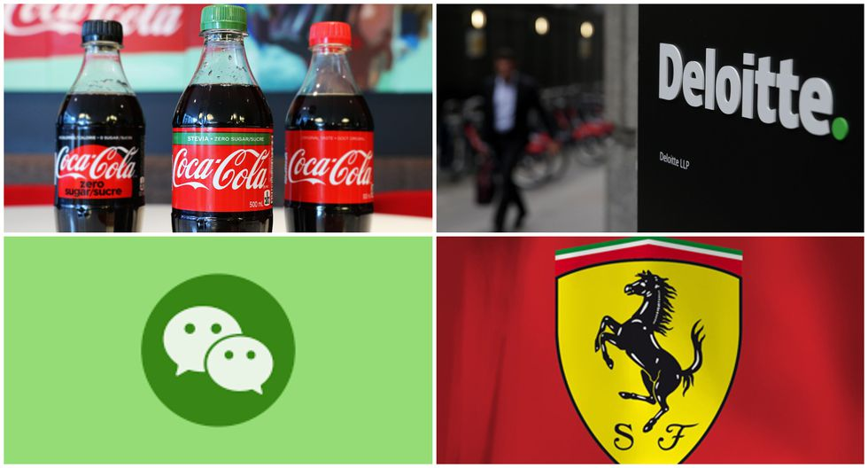 Revisa en esta foto galería el puntaje que lograron las 10 marcas que figuran en el ránking realizado por Brand Finance.