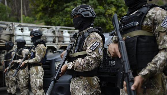 Enfrentamientos entre militares venezolanos y un grupo armado colombiano dejan varios muertos en el estado Apure. (Foto referencial, Matias Delacroix / AFP).