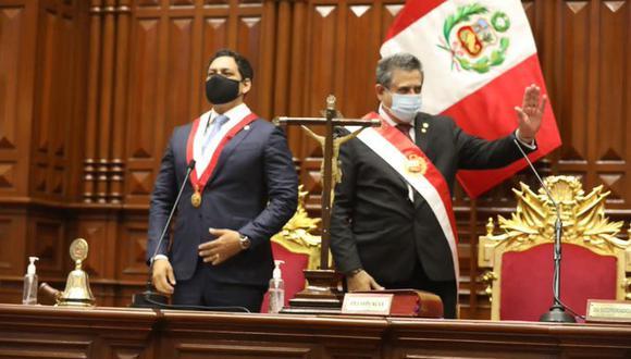 Manuel Merino asumió la presidencia por los próximos nueve meses (Foto: Congreso).