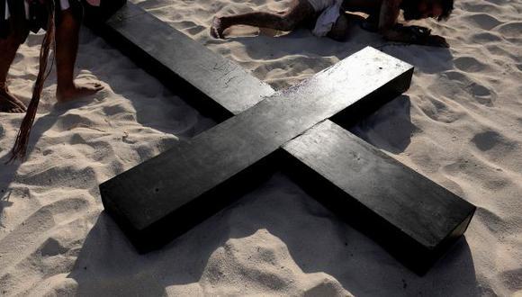 Joven que interpretaba a Judas en Vía Crucis murió ahorcado