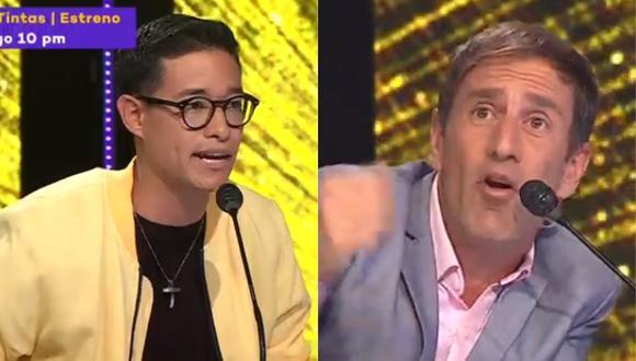 """Tony Succar y Mauri Stern discutieron en la reciente edición de """"Yo Soy"""". (Foto: Captura Latina)"""