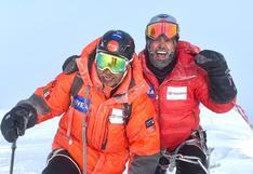 Rafa Jaime, el alpinista mexicano invidente que llegó a la cima de la montaña más gélida del planeta