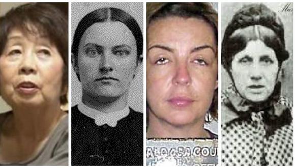 De izquierda a derecha: Chisako Kakehi, Lydia Anna Mae Trueblood, Elisa McNabney y Mary Ann Cotton.
