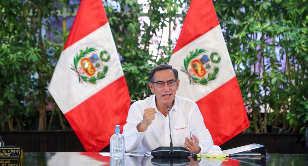 El presidente Martin Vizcarra anunció el aislamiento el 16 de marzo, el cual terminará el 26 de abril (Foto: Presidencia)