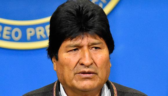 El domingo, la Organización de los Estados Americanos (OEA) dijo que las elecciones en Bolivia tendrían que ser anuladas debido a serias irregularidades y manipulaciones y que debería tener lugar una nueva votación. Evo Morales aceptó hacerlo. (EFE).