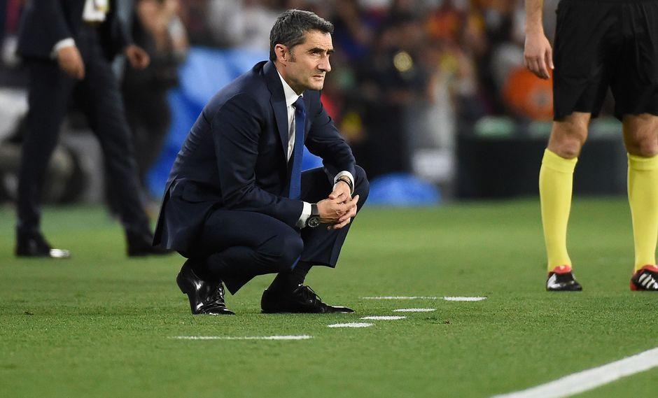 Barcelona: Ernesto Valverde y sus primera palabras tras la derrota ante Valencia por la Copa del Rey   VIDEO. (Foto: AFP)