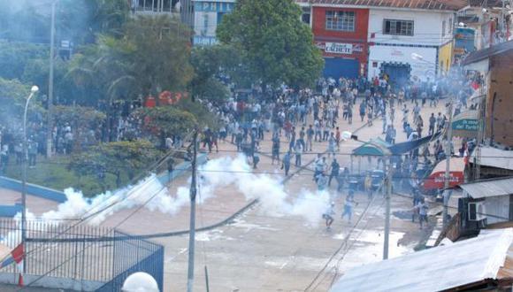 San Martín: Ronderos exigen liberación de compañeros detenidos
