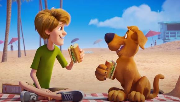 """Scooby"" se estrenará de manera digital mediante plataformas como Apple TV, DirecTV y más. (Captura de pantalla)."