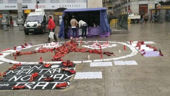 Madrid: Mujeres están en huelga de hambre desde hace 17 días