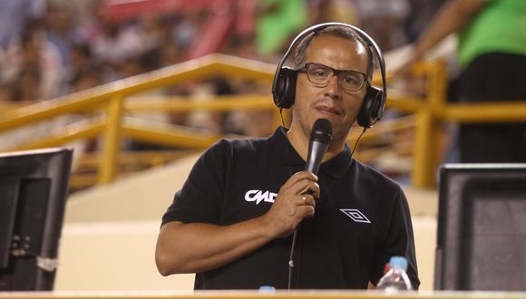 Daniel Peredo trabajó en CMD por muchos años. Se hizo conocido como la voz de la selección. (Foto: Archivo GEC)