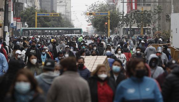 Durante los días de crisis política (del 10 al 18 de noviembre) se reportaron 459 fallecidos y 18.424 según la Sala Situacional COVID-19 del Minsa (Foto: Leandro Britto / GEC)