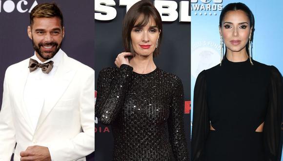 Ricky Martin, Paz Vega y Roselyn Sánchez serán los presentadores de la ceremonia de premiación de los Latin Grammy 2019. (Foto: AFP)