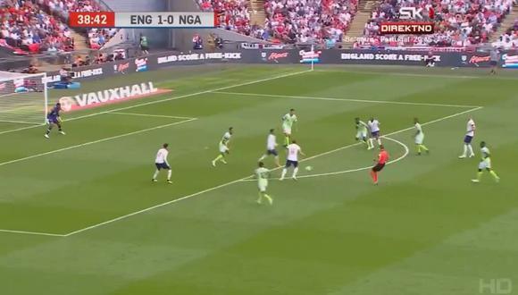 Inglaterra vs. Nigeria: el golazo de Harry Kane en Wembley | VIDEO |