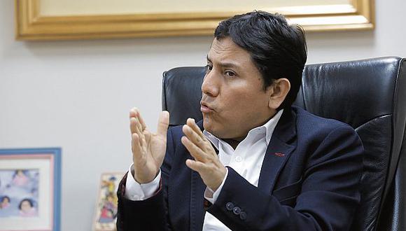 Elías Rodríguez no descartó alianzas con otras agrupaciones. (Foto: USI)