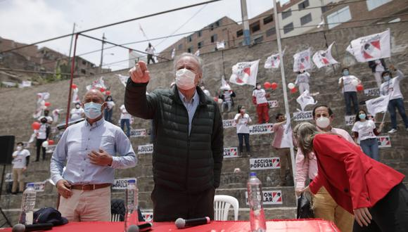 Alfredo Barnechea es uno de los cuatro precandidatos a la presidencia de la República por Acción Popular (Foto: Antonhy Niño de Guzmán)