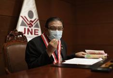 Elecciones 2021: Opiniones divididas sobre postura del presidente del JNE