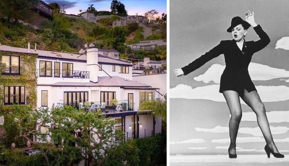 La antigua casa de Garland, una hermosa mansión de cinco dormitorios en Los Ángeles, acaba de salir al mercado. (Foto: The MLS)
