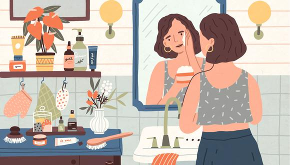 Con una simple rutina de 4 pasos, puedes cuidar tu piel y su vitalidad. (Foto: Shutterstock)