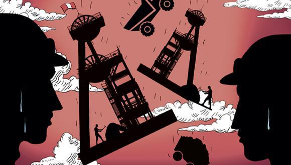 """""""La principal tarea que tienen los asistentes a la PDAC este año es potenciar la exploración en nuestro país"""". (Ilustración: Giovanni Tazza)"""