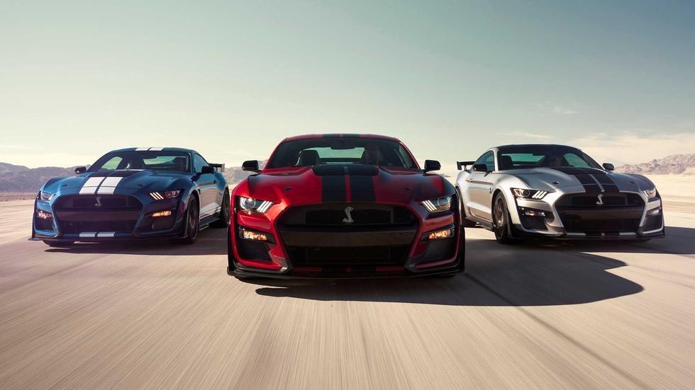 Los números del Ford Mustang Shelby GT500 son tan impresionantes como su diseño: de 0 100 km/h en 3.0 segundos y el cuarto de milla en 11 segundos. (Fotos: Ford).