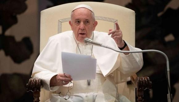 El Vaticano sostiene que las palabras del papa Francisco fueron editadas y sacadas de contexto. (EFE).