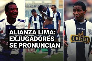 Referentes y exjugadores blanquiazules reaccionan tras descenso de Alianza Lima