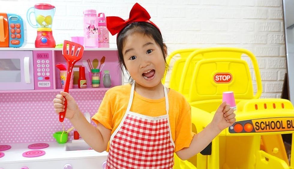 Boram, una youtuber surcoreana de 6 años de edad, se ha hecho de una propiedad de 8 millones de dólares en un exclusivo vecindario de Seúl. (YouTube)