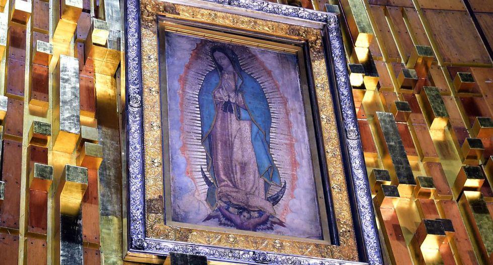 Nuestra Señora de Guadalupe, conocida comúnmente como la Virgen de Guadalupe, es una aparición mariana de la Iglesia católica de origen mexicano. (Foto: AFP)